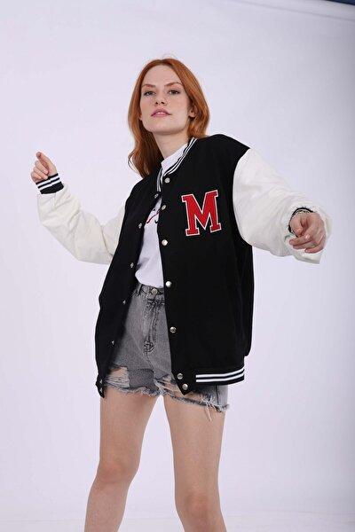 Siyah M Kolej Ceket
