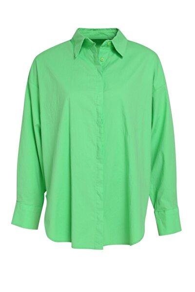 Oversize Basic Gömlek