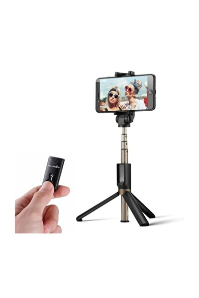 Selfie Stick L04 Bluetooth Selfie Çubuğu Tripod Selfie Stick
