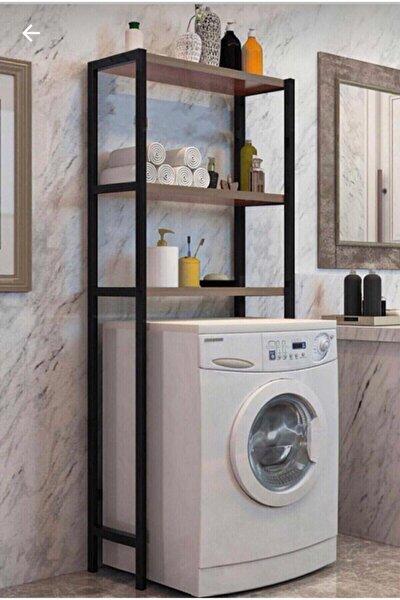 Çamaşır Makinesi Üstü Düzenleyici Raf Banyo Rafı Makina Üstü Çok Amaçlı Dolap