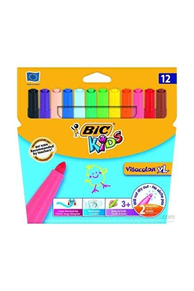 Kids Visacolor XL Keçeli Boya Kalemi 12 Renk