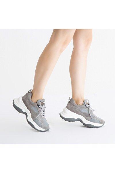 Kadın Derı Sneakers & Spor Ayakkabı 810 097 Byn Ayk Y21