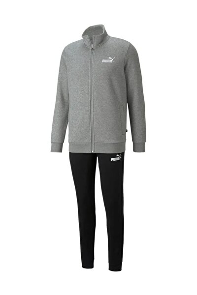 Clean Sweat Suit Fl Erkek Günlük Eşofman Takımı 58584103 Gri