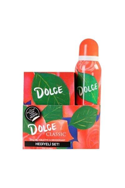 Classic Edt 100 ml Kadın Parfümü Ve 150 ml Deodorant Seti