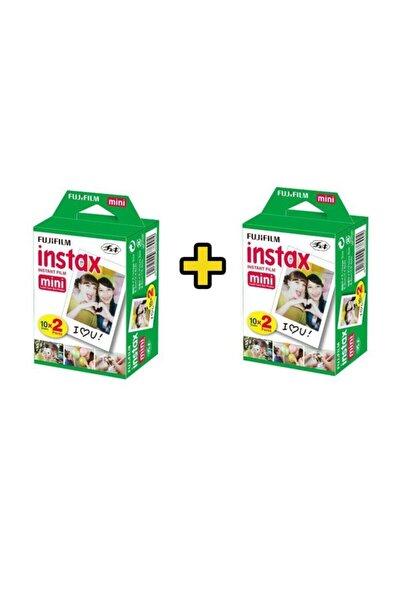 Fuji İnstax Mini 10x2 20 Sheets Fotoğraf Filmi 2 Paket (40 Poz)