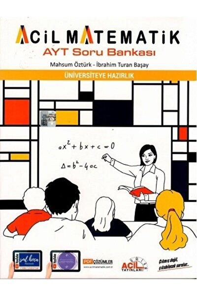 Acil Ayt Matematik Soru Bankası 2022