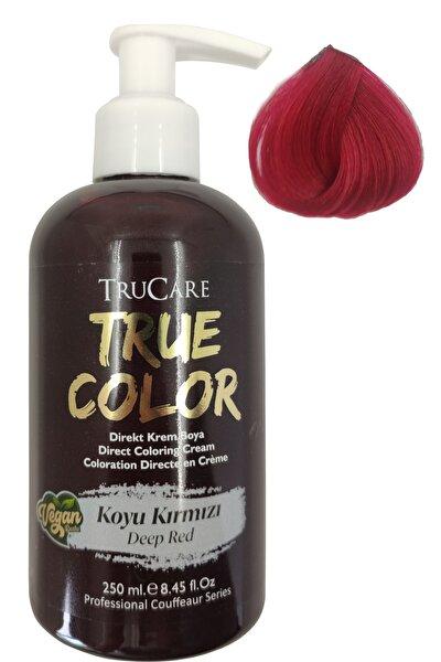 Truecolor Vegan Saç Boyası Koyu Kırmızı 250 ml