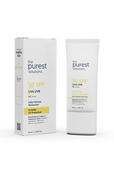 Invisible Uv Protection, Daily Intensive Moisturizer Spf 50+