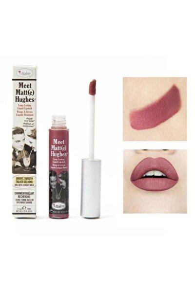 Hughes Liquid Lipstick Ruj Sincere