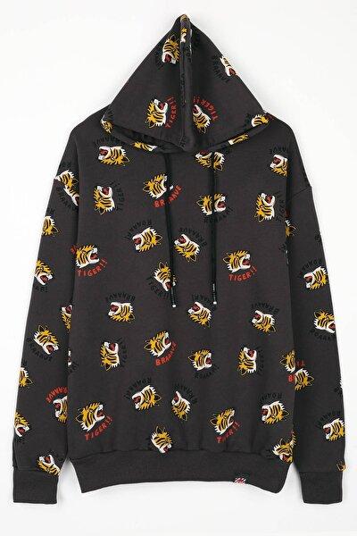 Tiger Füme Unisex Sweatshirt
