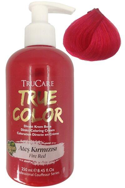 Vegan Saç Boyası Ateş Kırmızısı 250 ml