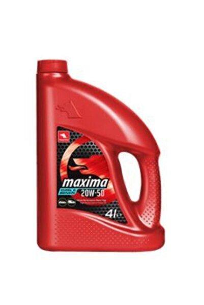 Maxima 20w-50 Benzinli Motor Yağı 4 Litre