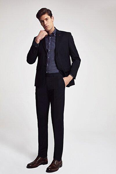 Siyah Renk Erkek Takım Elbise Slim Fit