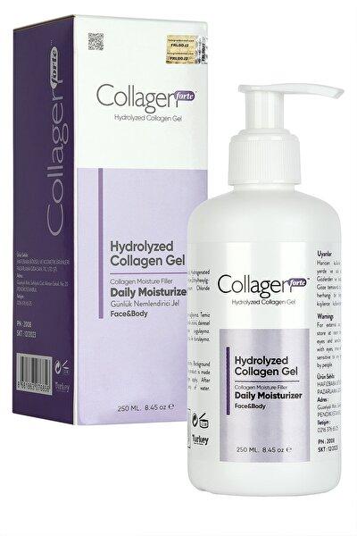 Hydrolyzed Vücut Ve Yüz Bakım Jeli Collagen Gel 250 ml