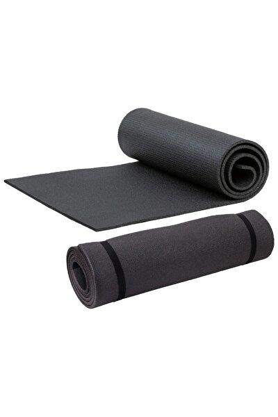 Pilates Yoga Minderi Spor Yer Matı Fitness Matı Evde Spor Matı 7 mm 150 x 50 Cm