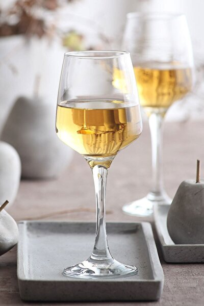 Lal 6 Parça Su-Şarap Kadehi