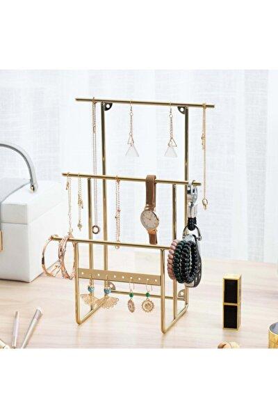 Gold Altın Takı Standı, Takılık, Küpelik, Bileklik, Kolye Seti, Takı Dolabı Düzenleyici