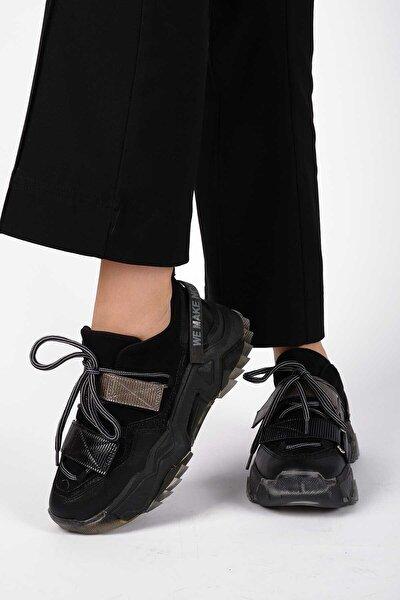 65140 Kadın Spor Ayakkabı Siyah