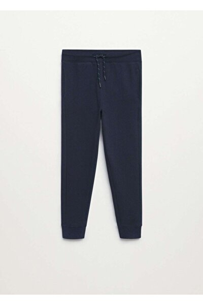 Jogger Tarz Pamuklu Pantolon