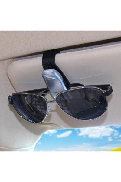 Araba Gözlük Tutacağı Klips Tek Siyah