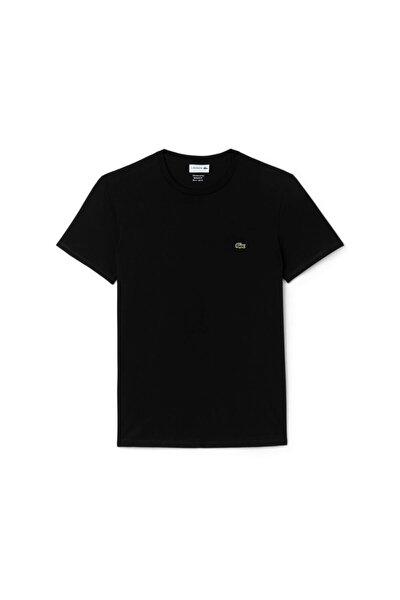 Erkek Regular Fit Bisiklet Yaka Siyah T-shirt