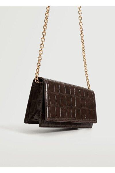Kadın Çikolata Kapaklı Zincir Çanta