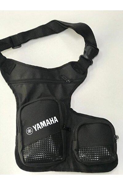 Yamaha Gri Motosiklet Bacak Çantası