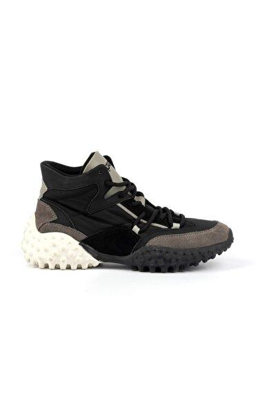 Kadın Boğazlı Deri Sneaker