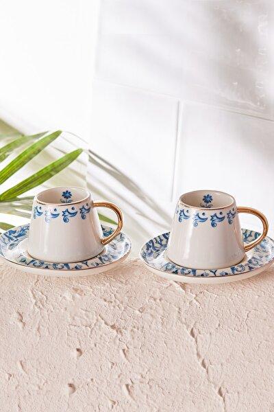 Mare 6 Kişilik Kahve Fincanı Takımı