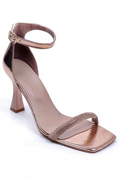 Bakır Kadın Topuklu Ayakkabı 006.2602