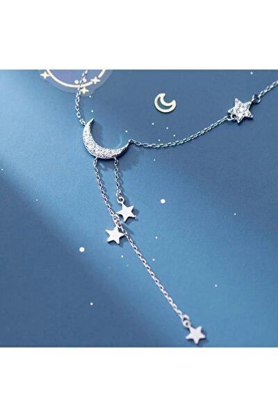 Gecenin Işıkları Ay Yıldız Kolye