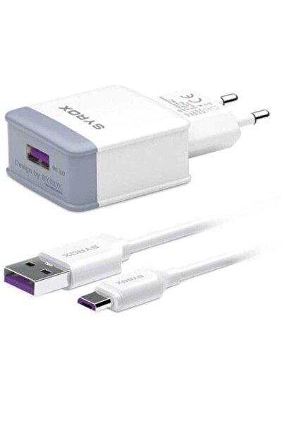 Hızlı Sarj Seti Q30 3.0 Amper Şarj Aleti Micro-usb
