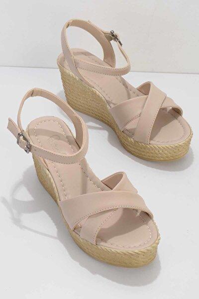 Nude Kadın Sandalet K05936021109