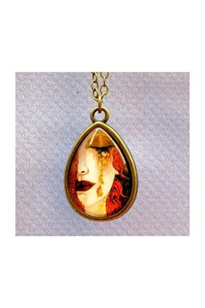 Art Gallery Gustav Klimt Ağlayan Kadın Kolye