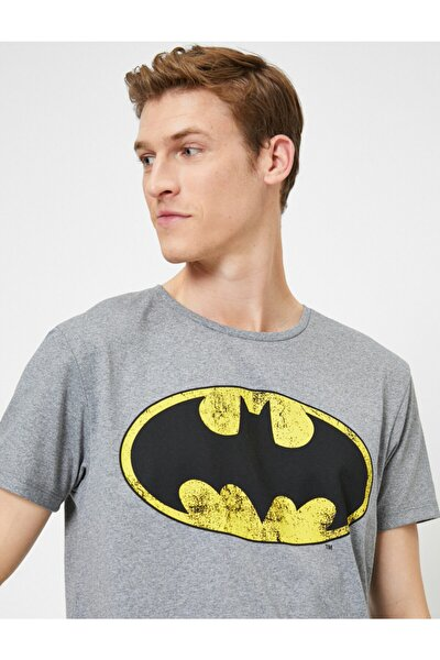 Batman Lisansli Baskili T-shirt