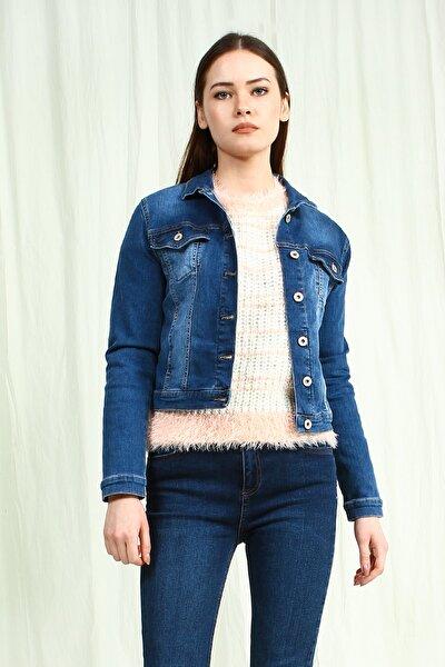 Kadın Mavi Ceket UCB100233A22