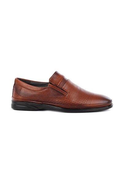 Hakiki Deri Erkek Günlük Delikli Yazlık Ayakkabı