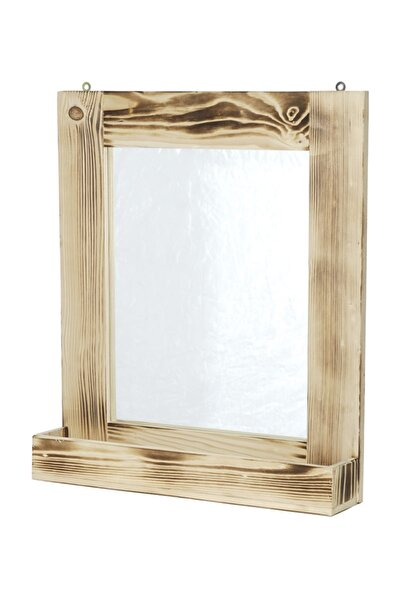 Ahşap Ayna 52x70 cm