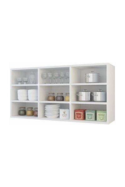 hazır mutfak hortus byz 060*120*22 mutfak banyo dolabı raflı