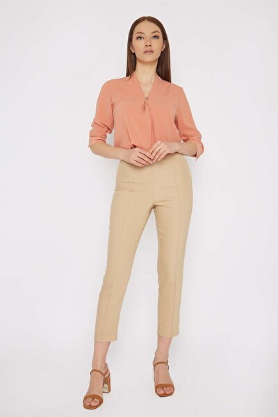 Kadın Slim Fit Pantolon