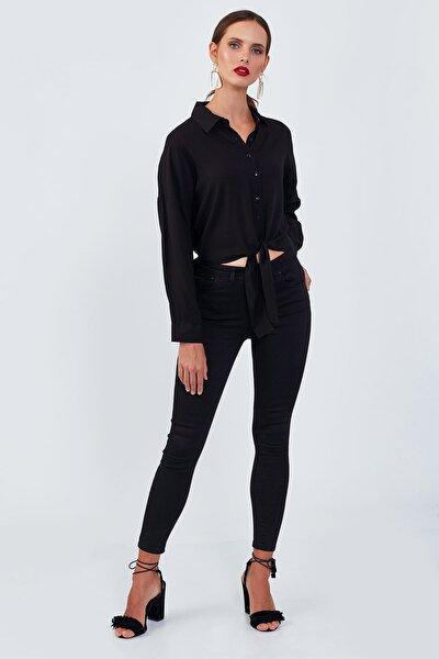 Siyah Dar Paça Pantolon | 0013