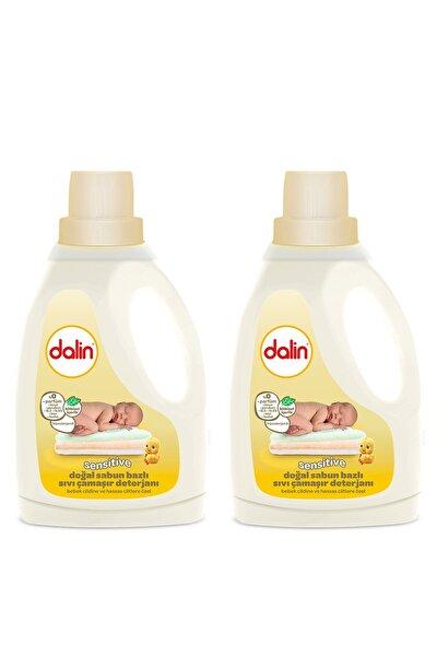 Sensitive Doğal Sabun Bazlı Çamaşır Deterjanı 1500 ml x 2 Adet