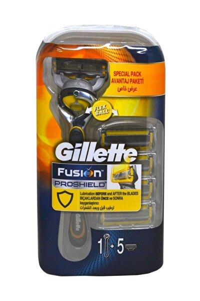 Fusion 5 Proshield Tıraş Makinesi + 5 Yedek Bıçak Hediye
