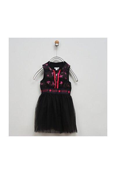 Kız Çocuk Siyah Elbise 2011gk26009