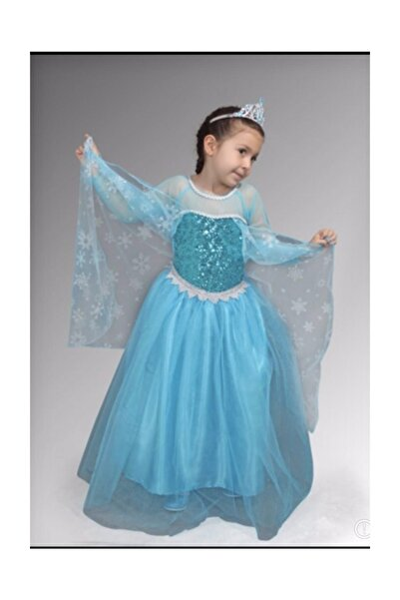 Kabarık Elsa Kostümü, Karlar Ülkesi, Elsa Elbise, Kostüm,frozen