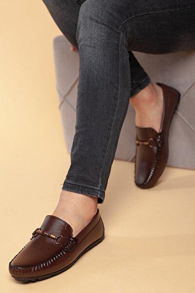 Kahverengi Erkek Ayakkabı DXTWMNRK060600