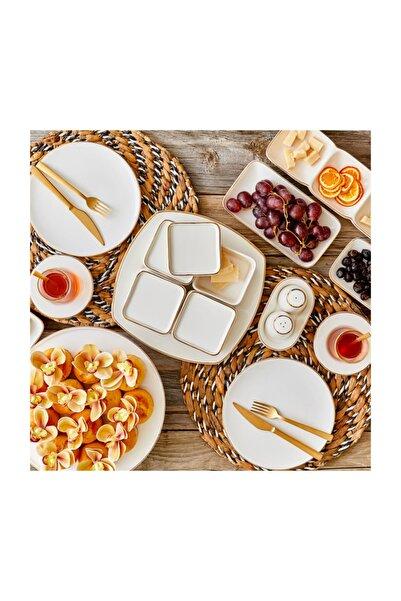 Allure Beyaz Kapaklı Kahvaltılık