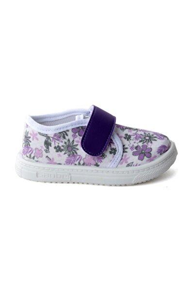 401 R 008 Anatomik Kız Çocuk Keten Sandalet Ayakkabı