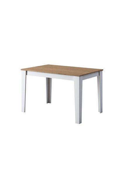 Rani T1 Mutfak Masası 110 Cm Sepet Ceviz - Beyaz M1