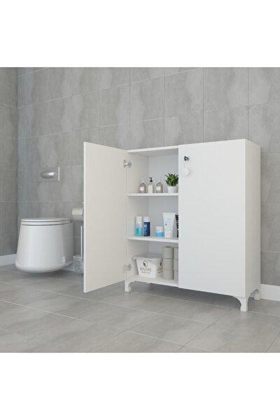 Mutfak Dolabı Çilem Byz Kilitli Ayaklı Banyo Evrak Ofis Ayakkabılık Kiler  088*090*032